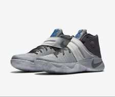 Nike Kyrie 2 II GS Wolf Grey Omega Blue Cool Marble Oreo Irving 826673-004 sz 5Y