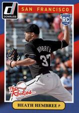 2014 Donruss The Rookies #39 Heath Hembree INSERT