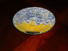 BEAUTIFUL Poole Pottery England Vincent Hand Painted Sunflower Coffee Cup Saucer