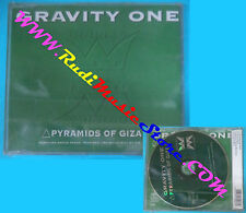 CD singolo Gravity One Pyramids Of Giza OK 9604 CDS ITALY 1996 SIGILLATO(S29)