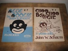 VINTAGE ANTIQUE SHEET MUSIC LOT OF 8 BLUE + CHOO CHOO BOOGIE COLE PORTER PAGE