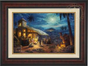Thomas Kinkade Studios Nativity 18 x 27 Limited Edition S/N Canvas Framed