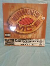 "ULTRAMAGNETIC MC's - MECHANISM NICE / NOTTZ - NEW SEALED 12"" VINYL SINGLE"