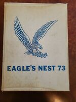 Chapin High School 1973 Eagle's Nest Yearbook, Annual SC Hardcover