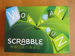 Scrabble Original Board Game PERFECT  Mattel Games
