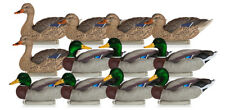 NEW Dakota Decoy 12120 X-Treme Mallards Premium Floater Mallard Hunting 12 Pack