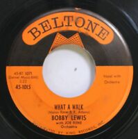 50'S & 60'S 45 Bobby Lewis - What A Walk / Cry No More On Beltone