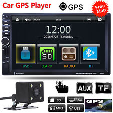 "CAM+ 7"" 2Din In Dash 1080P Car Stereo MP3 Player Touch GPS Navigation Bluetooth"
