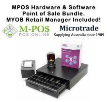 POS Bundle & MYOB Retail Manager -Omnidirectional Scanner, Printer, Cash Drawer.
