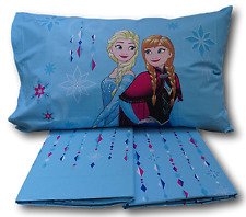 Caleffi Disney completo Lenzuola Frozen Cristal Elsa Anna una Piazza e Mezzo