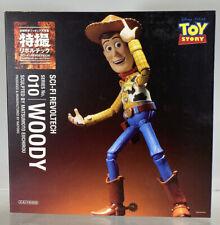 "Sci-Fi Revoltech Disney Toy Story Sheriff Cowboy Woody 6"" Figure 010 Kaiyodo Box"