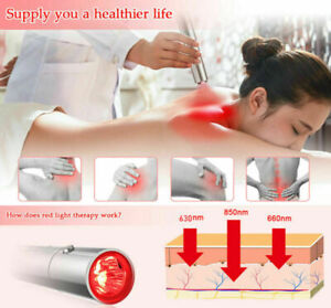 Red Light Therapy Device Pain Relief for Joint and Muscle Pain 3 Wavelengths LED