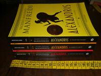 GG LIBRO: TRILOGIA VALERIO MASSIMO MANFREDI – ALEXANDROS – OSCAR MONDADORI BEST