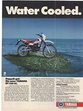 Historische Reklame - vintage advert -  YAMAHA DT 125 LC - Enduro -  Annonce -