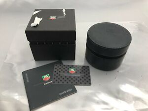 Genuine TAG Heuer Empty Watch Box Case Booklet Authentic Black 210201009 P276N