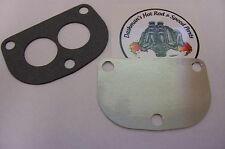 "For Stromberg 97 48 Ford Holley 94 Spacer Flathead Intake Block-Off Plate .06"" D"