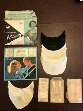 Dress Shields and Lingerie Straps, Lot of 5 Packaged Items. Pre-1976.