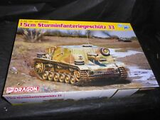 DRAGON 6749, 1/35 15CM STURMINFANTERIEGESCHUTZ 33 PLASTIC SMART MODEL KIT