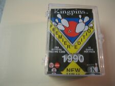 Kingpins Premier Edition 1990 PBA 100 Card Set Includes 1 Autographed Card