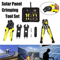 MC4 Solar Panel Multitool Crimping 2.5-6mm2 14-10AWG Wire Crimper Wire Tools Set