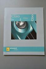 UK Sales Brochure Renault Clio Petrol & Diesel inc. Sport V6, Technical Specs