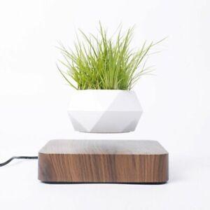 Magnetic Levitating Plant Pot Bonsai Air Suspension Home Decor Floating Pot