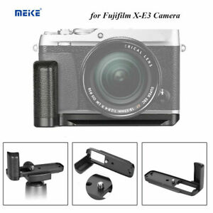 Meike MK-XE3G Camera Hand Grip Bracket Holder Metal for Fuji X-E3 Camera Black
