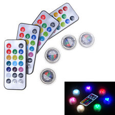Multi-color Charm Change Color Round Waterproof Party LED Candle Light Lamp