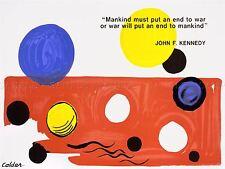 Anuncio Presidente Jfk Kennedy Guerra Hombre Esfera Usa Color impresión arte cartel lv7002