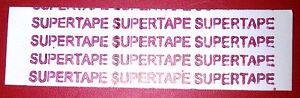 """Supertape 1"""" Straight Strips pkg of 72 lace hairpiece wig toupee tape"""