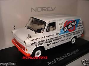 Norev Ford Transit Van/Wagon Orangina 1970 to the / Of 1 /43°