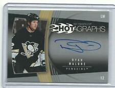 2006-07 UPPER DECK HOT PROSPECTS RYAN MALONE AUTO HOTGRAPH SIGNATURE PENGUINS