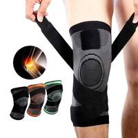 Knee Brace Support for Men and Women Compression Sleeve Brace Patella Strap AM