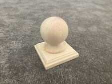 Solid Pine Newel Cap, Fence Post, Stair Parts
