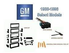 GENERAL MOTORS Fits 1988-1996 Select Models CAR STEREO INSTALL DASH KIT, HARNESS