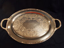 Rogers and Brother Silverplated Two Handled Tray 2380