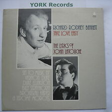 RICHARD RODNEY BENNETT - Take Love Easy- Ex Con LP Record Audiophile AP-206