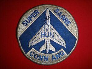 F-100D SUPER SABRE 118th TFS Connecticut Air National Guard CONN ANG Patch