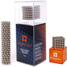 BrainSpark DigitDots 222 Pcs 5mm Magnetic Balls Nickel Desk Fidget