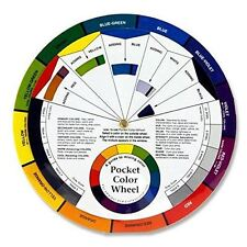 Pocket Colour Wheel - Paint Mixing & Learning Guide - Art Class / Teaching Tool