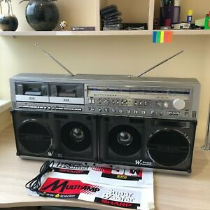 SHARP GF-777 Z stereo boombox GOOD condition SEE VIDEO DEMONSTRATION + 50 photos