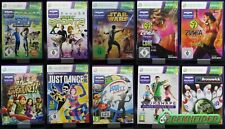 Xbox360 - Microsoft Kinect Spiele - Sports/Just Dance/Game Party/Bowling/Zumba
