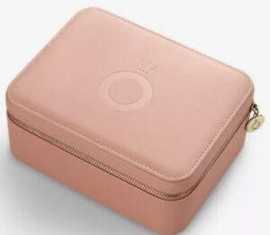 Genuine Pandora Pink Travel Jewellery Box NEW & BOXED 'Perfect Gift'
