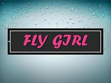 Sticker decal macbook airplane aircraft airport plane fly girl