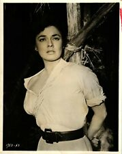 1954 Ruth Roman Portrait Tanganyika Synopsis On Back Vintage Photograph