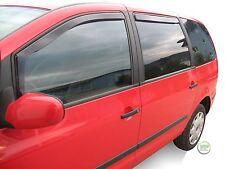 DVW31129 VW SHARAN MK1 1995-2010 WIND DEFLECTORS   4pc HEKO TINTED