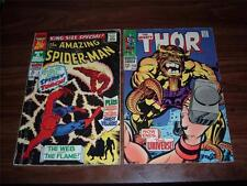 Marvel Silver age lot of 50 comic books-mostly Superhero