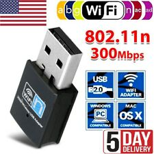 USB WiFi Wireless Dongle Network Adapter 300Mbps 2.4GHz FOR PC/Laptop/Windows XP
