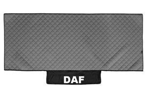 Truck Bed Cover PU Leather Bedspread for DAF XF 106 2013+ Gray Lorry Coverlet