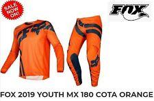 Fox Kids Motocross Pants Red 28